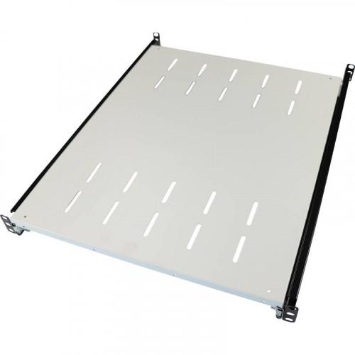 Excel Environ Sliding Shelves - 550mm depth (Mounting Depth: 605mm-875mm) - Grey White