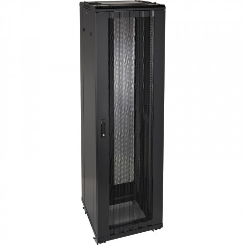 Environ ER600 29U Rack 600x1000mm W/Vented (F) D/Vented (R) B/Panels No/Mgmt Black - F/Pack