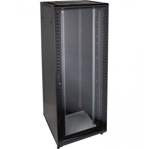 Environ CR800 29U Rack 800x1000mm Glass (F) Steel (R) B/Panels F/Mgmt Black