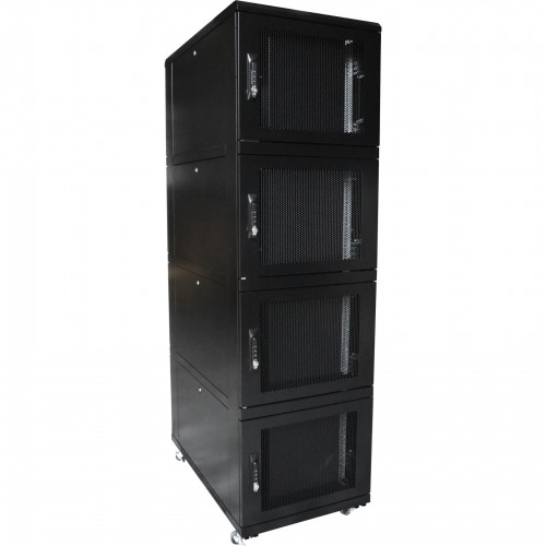 Environ CL800 47U Co-Location Rack 800x1000mm (2 Compartments) Vented (F) Vented (R) B/Panels B/Central-Mgmt Black - F/Pack