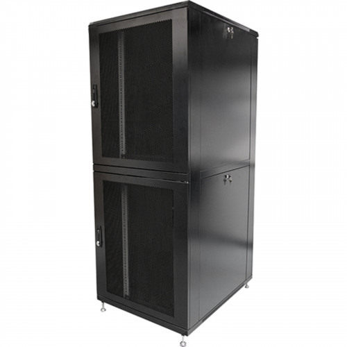 Environ CL600 47U Co-Location Rack 600x1000mm (2 Compartments) Vented (F) Vented (R) B/Panels R/Central-Mgmt Black - F/Pack