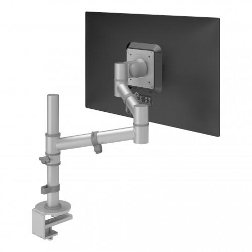 DataFlex 48.122 Viewgo Monitor Arm Desk Mount - Silver