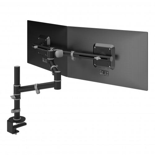 DataFlex 48.133 Viewgo Monitor Dual Arm Desk Mount - Black