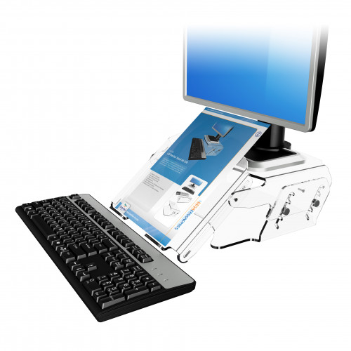 DataFlex 49.570 Addit monitor riser - adjustable 570