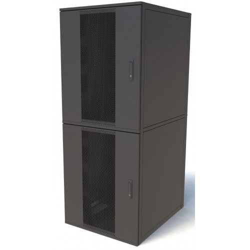 CL42812-2 Keyzone CL42812-2 42U 800mm(W) x 1200mm(D) 2 Compartment Co Location Rack