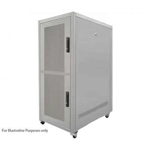 CL4368-2 Keyzone CL4389-2 43U 800mm(W) x 900mm(D) 2 Compartment Co Location Rack