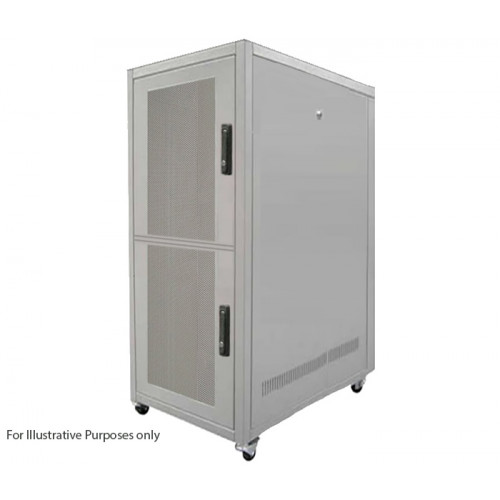 CL4769-2 Keyzone CL4769-2 47U 600mm(W) x 900mm(D) 2 Compartment Co Location Rack
