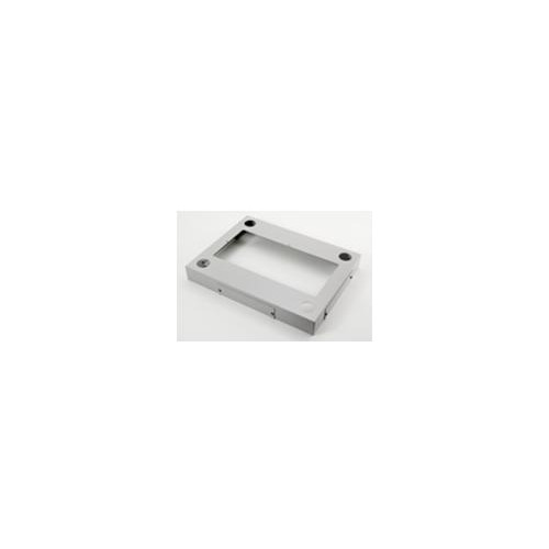 DR-PL60100 Keyzone600mm X 1000mm Plinth. Black finish