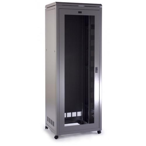 Prism CAB4588 Prism Pi Data Rack 45u 800mm (w) x 800mm (d) Goose Grey, fully assembled