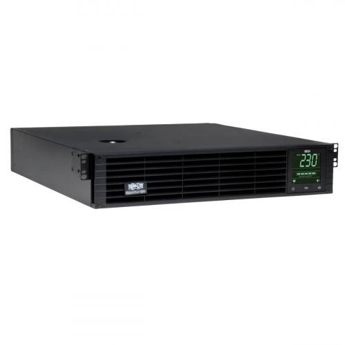 Trip Lite SMX1000RT2U SmartPro 1kVA Line Interactive Sine Wave UPS, SNMPWEBCARD option, 2U Rack/Tower, USB, Serial, EPO, 230V