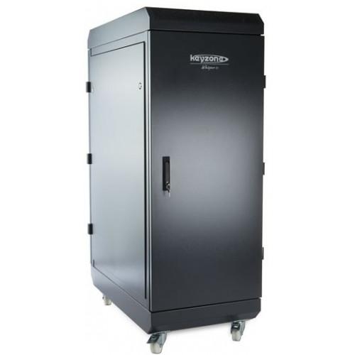 WSP3-27U-612 Whisper V3 27U 600mm(W) x 1200mm(D) Soundproof rack